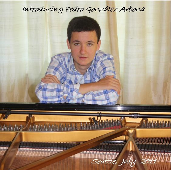 Introducing Pedro González Arbona, Pedro's debut CD