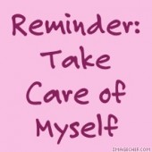 Self Care Reminder