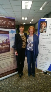 Henriet and Ardis living missionally at the NW Ministry Conference, March 2013.