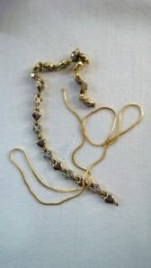 My mother's chain & bracelet