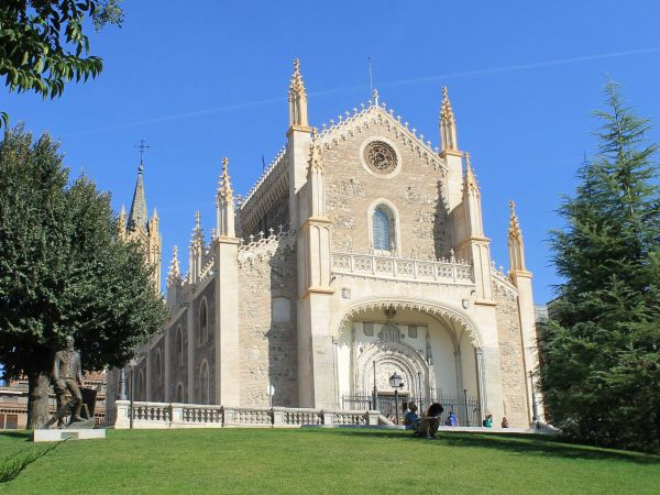 Exploring my first church in Spain, San Jeronimo el Real, Madrid