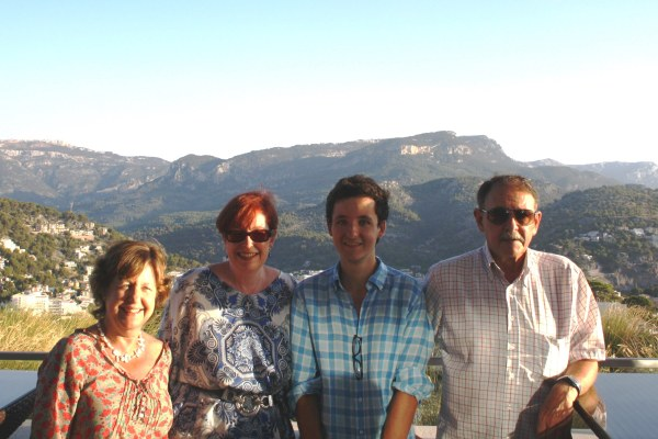 Rosa, me, Pedro, and Rafa, my host family for 6 weeks in Spain.