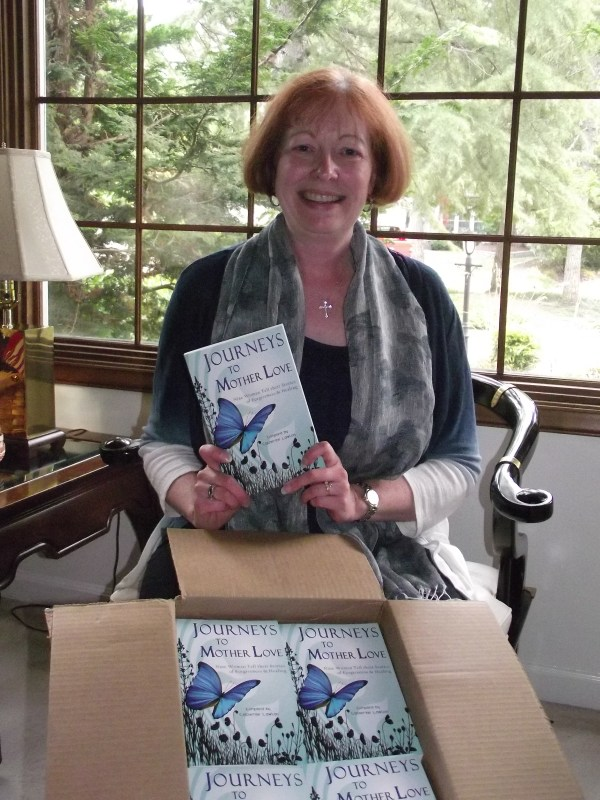Opening my first box of books, August 2012.