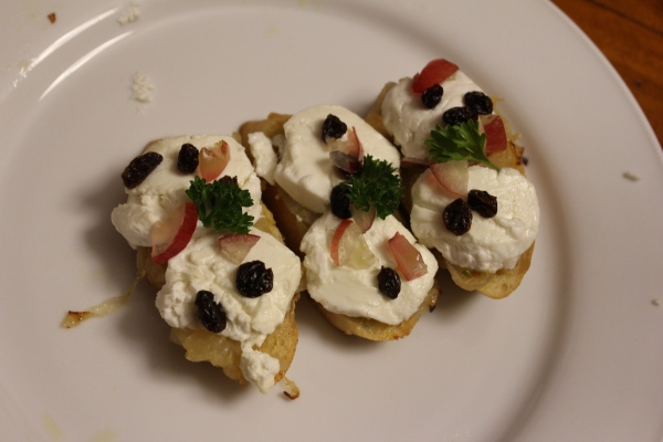 Goat Cheese Tapa