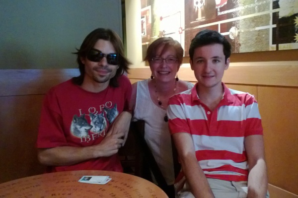 Chani Bas, Ardis A. Nelson and Pedro Gonzalez Arbona