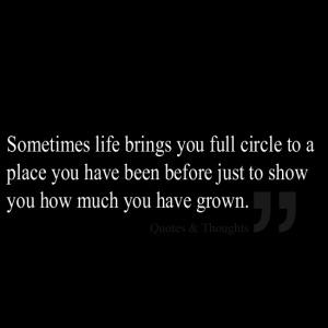 Full circle quote