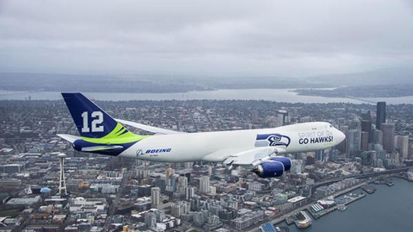 Seahawks Boeing 747