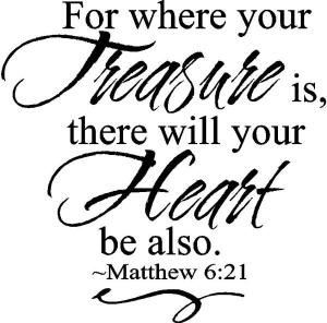 treasure heart verse