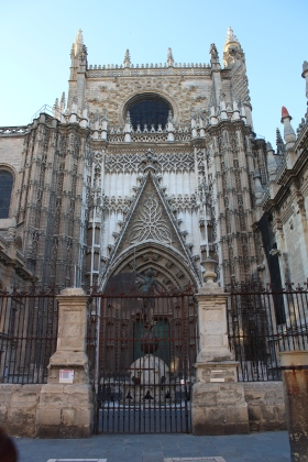 Facade of Seville Cathedral