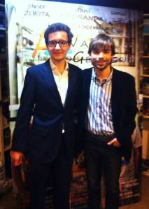 Pedro with his director, Chani Bas.