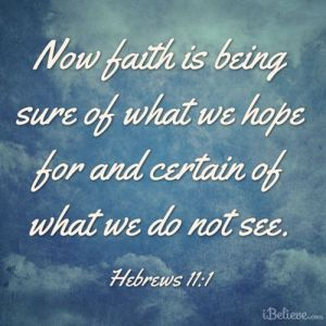 Hebrews 11.1