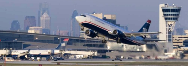 Flights were back on schedule at Philadelphia International Airport.