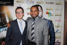 Pedro with Ramsey Nouah, aka Ugo.