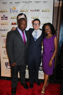 Kevin Nwankwor (writer/director/producer), Pedro, and Unoma Nwankwor (producer)