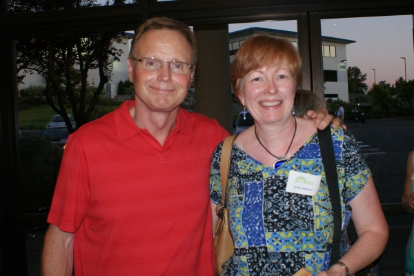 Me with Steve Arterburn at a local New Life Ministries event, July 2010.