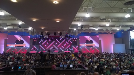 Rick Warren 'preaching it'
