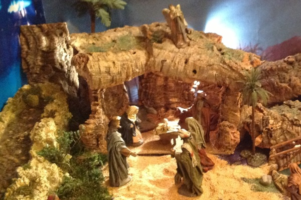 Spanish nativity scene (a Belen), photo courtesy of Pedro's family