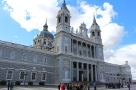 Almudena Cathedral, Madrid, where I worshiped one day while on mission to Spain, October 2014.