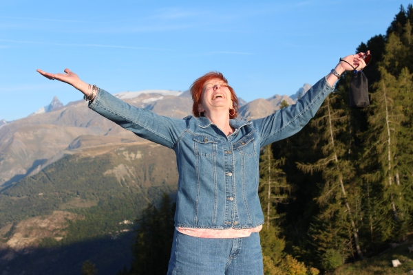 On a mountain high or a valley low, God uses it all.  Giving him the glory in the French Alps, September 2014.