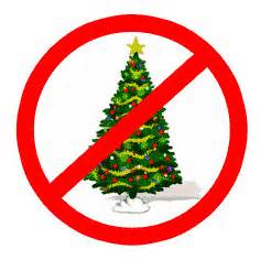 No Christmas tree