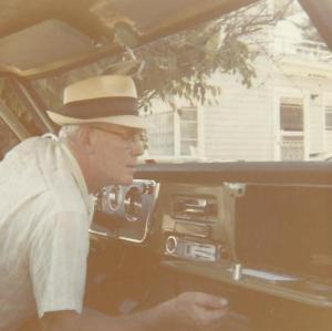 Ray with his new pick-up truck in 1969.