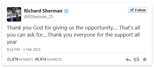 RSherman tweet