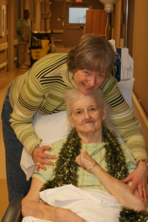 Mom & me, first visit back home, November 2009.