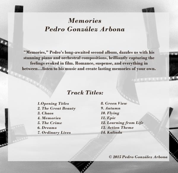 Memories Track Titles