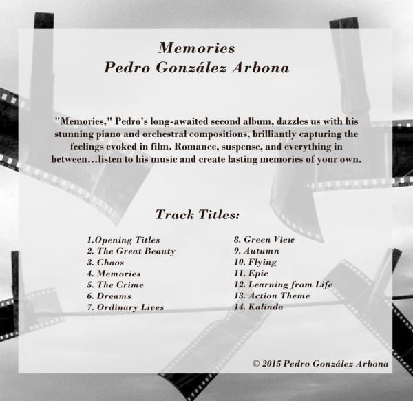 Memories Track Titles