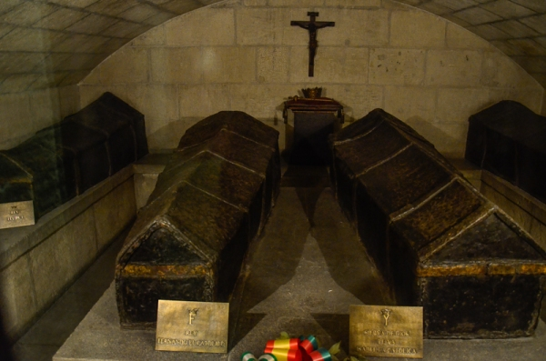The crypt of the Catholic Monarchs