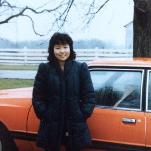 College friend Mary Ann, Fall 1982