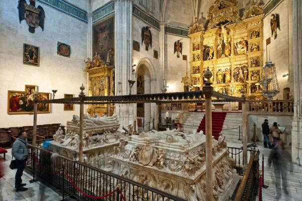 The tomb of the Catholic Monarchs