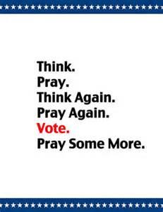 vote-pray